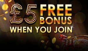 Gratis cash Casino bonus